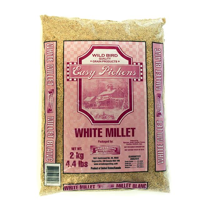 Bird Food - Easy Pickens White Millet - 22.6 kg