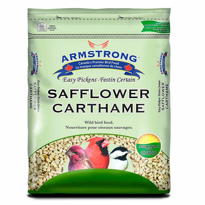 Safflower Seeds Bird Food - 9kg