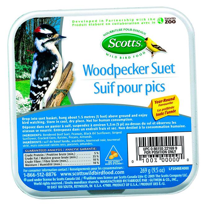 Woodpecker Suet - 269 g