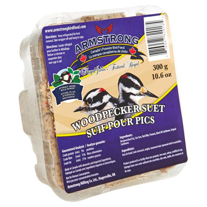 Woodpecker's Suet Cake - 300g