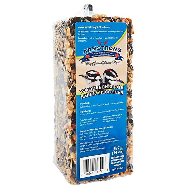 Barre à graines pour pic-bois, 397 g