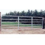 "Fence Gate - 6 Bars - Galvanized Steel Tube - 50"" x 4'"