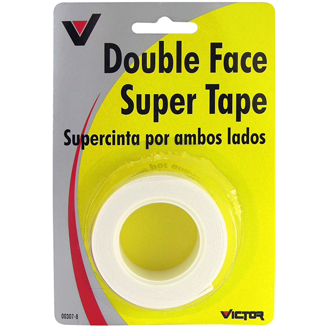 Double Sided Super Tape - 3/4'' x 5'' - White