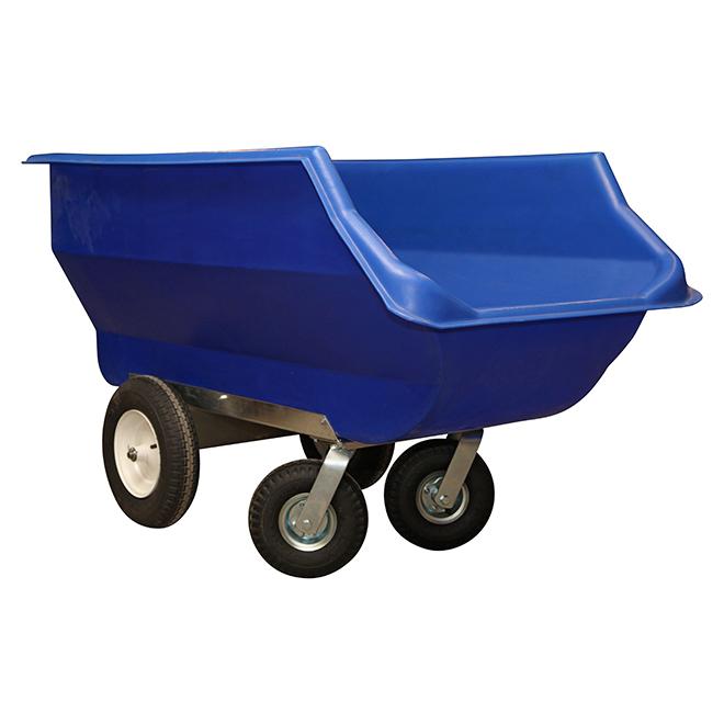 """Cart Feeder - Poly - 186 Gallon Capacity - 63"""" x 35"""""""