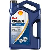 Heavy-Duty Synthetic Engine Oil - Rotella T6 - 5W40 - 5 L
