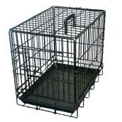 Cage à grillage noir, 48'' x 30'' x 33''