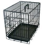 Cage à grillage noir, 54'' x 33'' x 42''