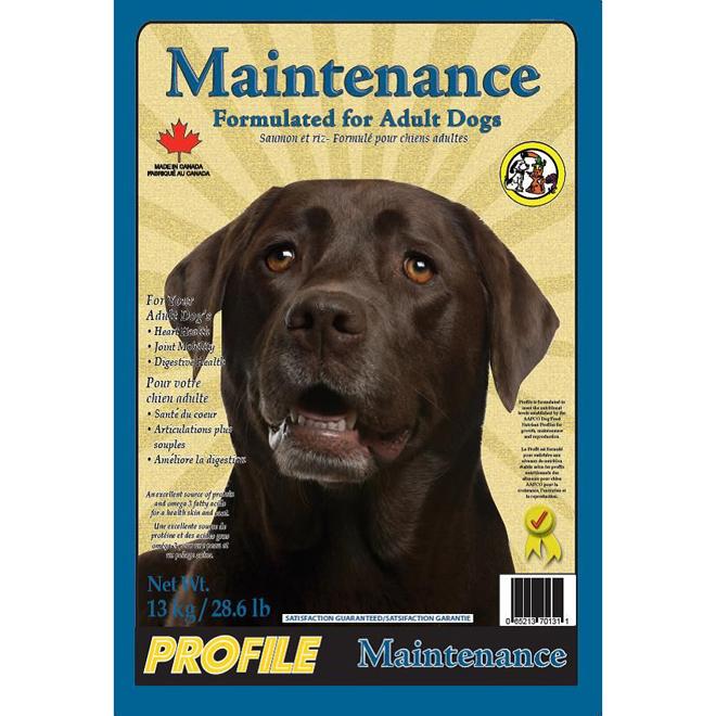 Dog Food- Adult Dogs - Maintenance Formula - 13 kg