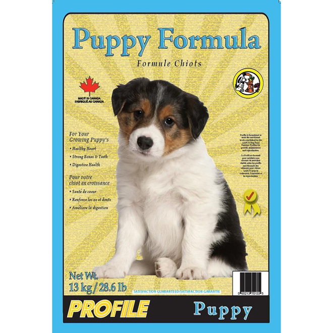 Dog Food - Puppy Formula - 13 kg