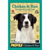 Nourriture pour chiens adultes, poulet et riz, 13 kg