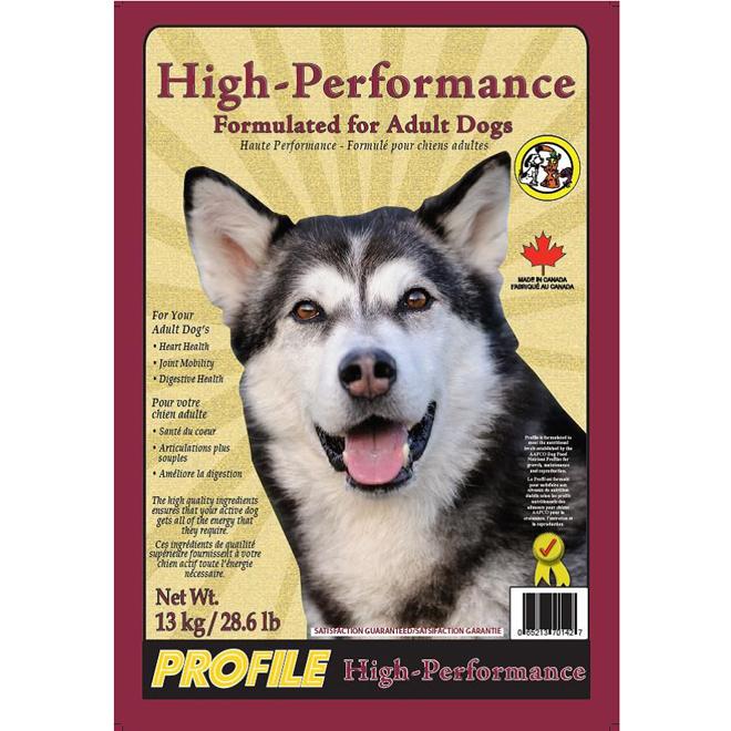 Nourriture pour chients adultes, 13 kg