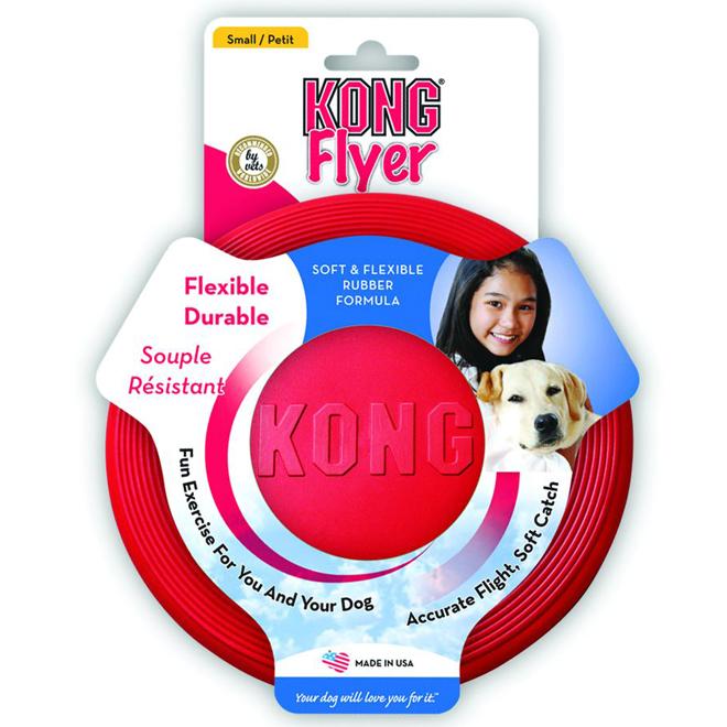 Flexible Frisbee Flyer Dog Toy - 9 1/2''