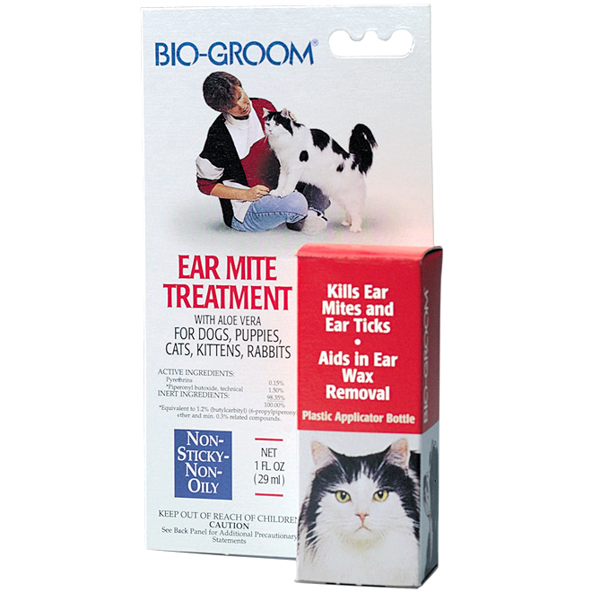 BIO-GROOM Ear Mite Treatment for Dog and Cat DD7368 | RONA