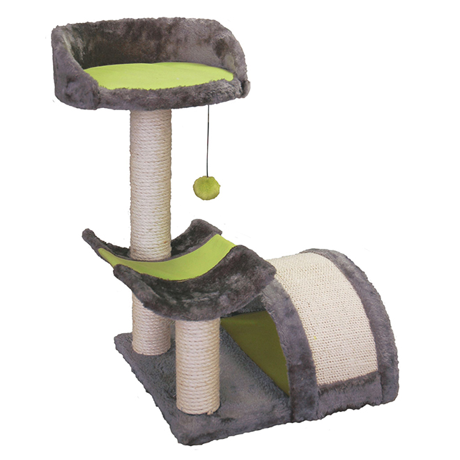 Cat Scratch N Rest Play Station - 17 3/4'' x 17 1/2'' x 24''