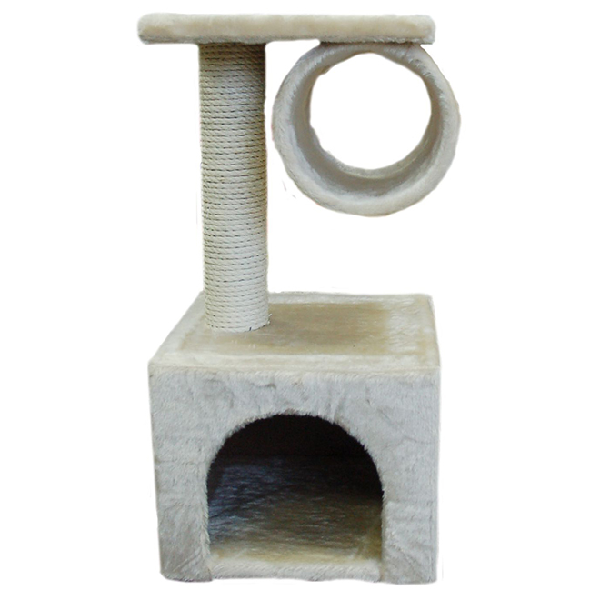 Cat Scratching Condo Sleeper - 30cm x 30cm x 60cm