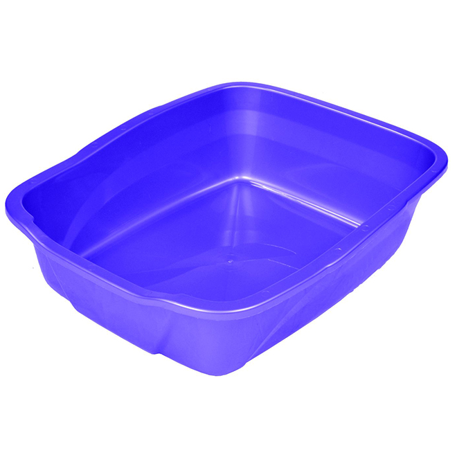 Large Cat Litter Pan - 18 1/2'' x 15'' x 5''