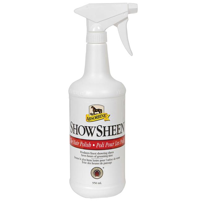 Démêlant lustrant pour crins de cheval ShowSheen, 946 ml