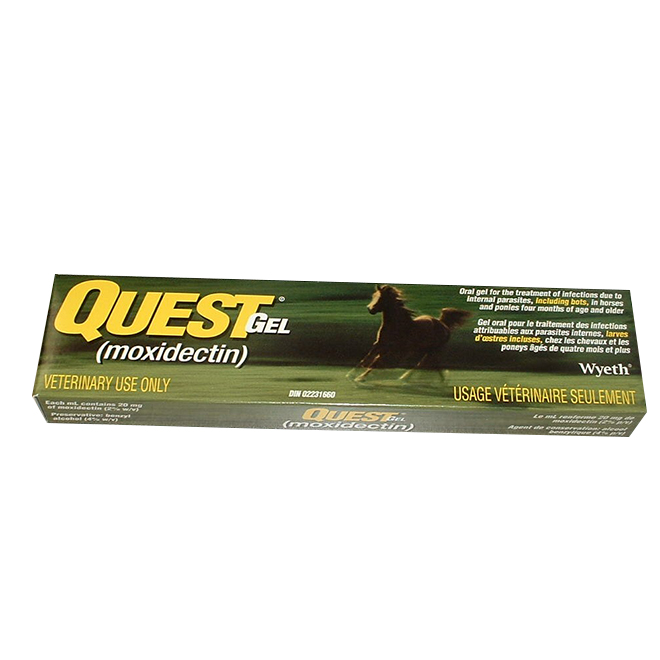 Horse Dewormer - Quest Moxidectin Gel - 11.5 mL
