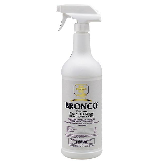 Insecticide pour chevaux, vaporisateur Bronco, 946 ml