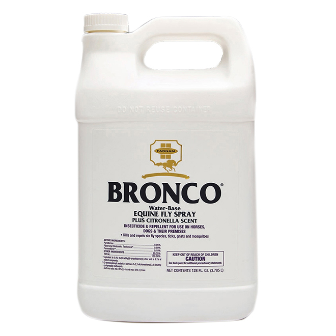Horse Insecticide - Bronco Fly Spray - 3.8 L