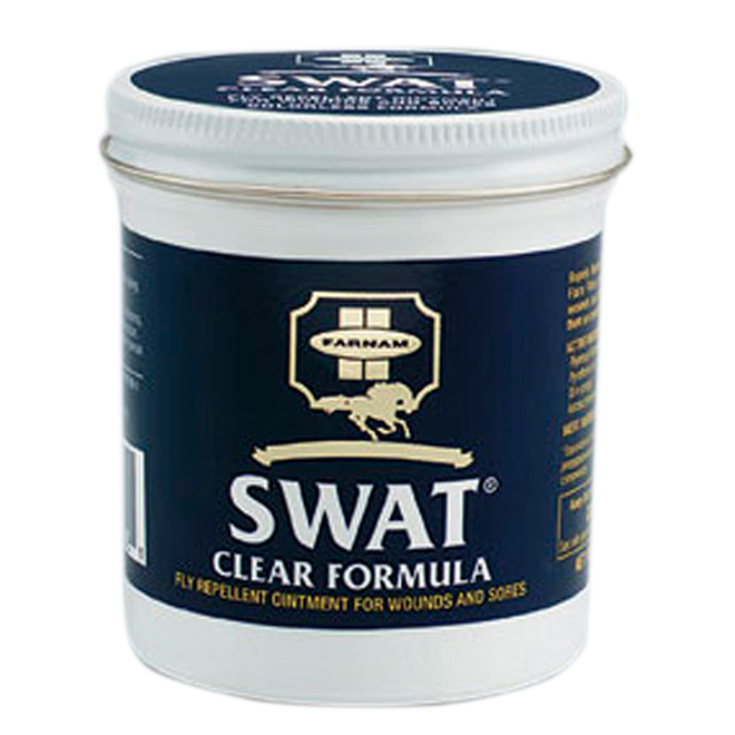 Insecticide pour chevaux, onguent Swat Clear, 177 g
