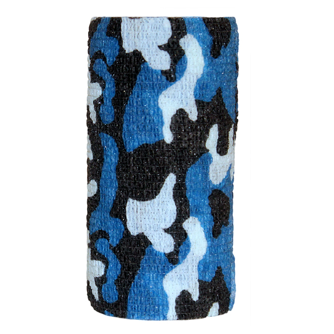 Bandage pour chevaux Silverline, camouflage, 4 x 15'