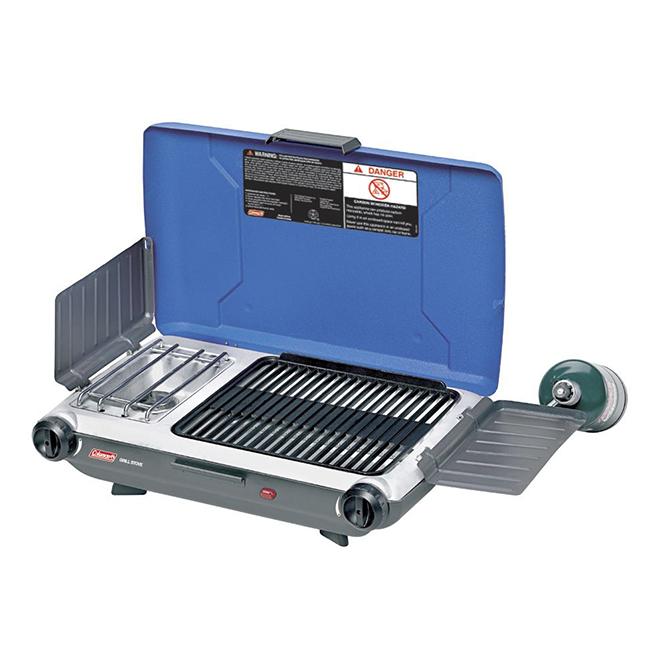 Propane Grill/Stove - PerfectFlow - Dual Burner - 20,000 BTU