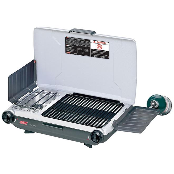 Réchaud/gril propane, PerfectFlow, 2 brûleurs, 18 000 BTU