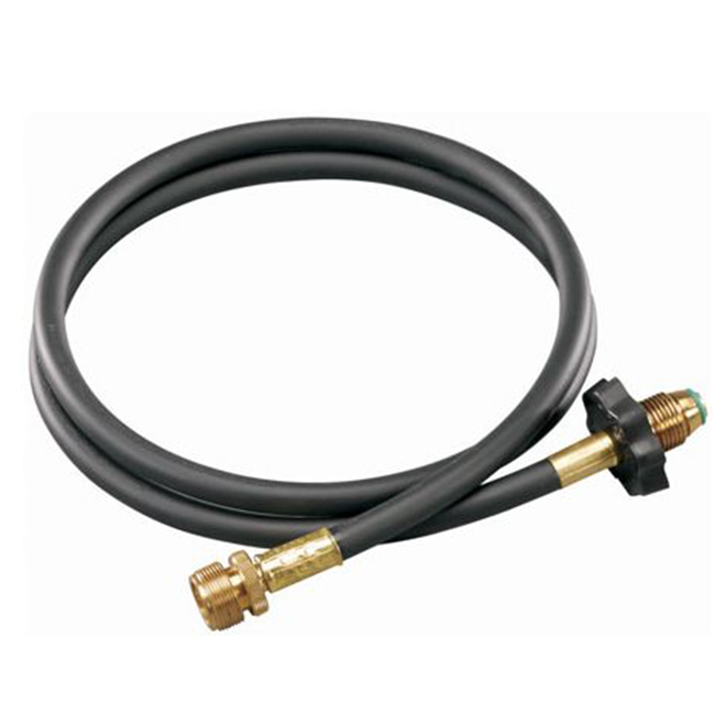 High-Pressure Propane Hose and Adapter - 5'