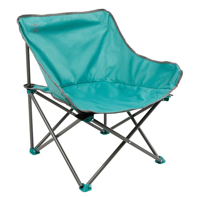 """Folding Chair - Kickback - 25"""" x 26"""" x 20 1/2"""" - Teal"""