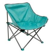 "Folding Chair - Kickback - 25"" x 26"" x 20 1/2"" - Teal"