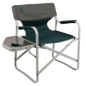 Folding Chair with Side Table - Outpost Elite - Green