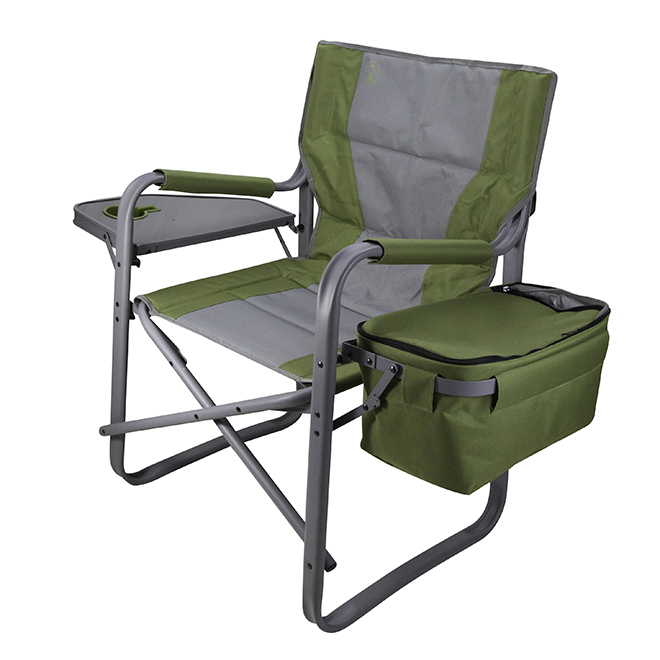 Coleman Folding Chair With Side Table And Cooler 21 Quot X