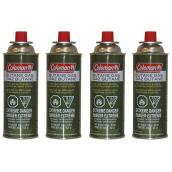 Butane Cylinders - 8.8 oz - 4 Pack