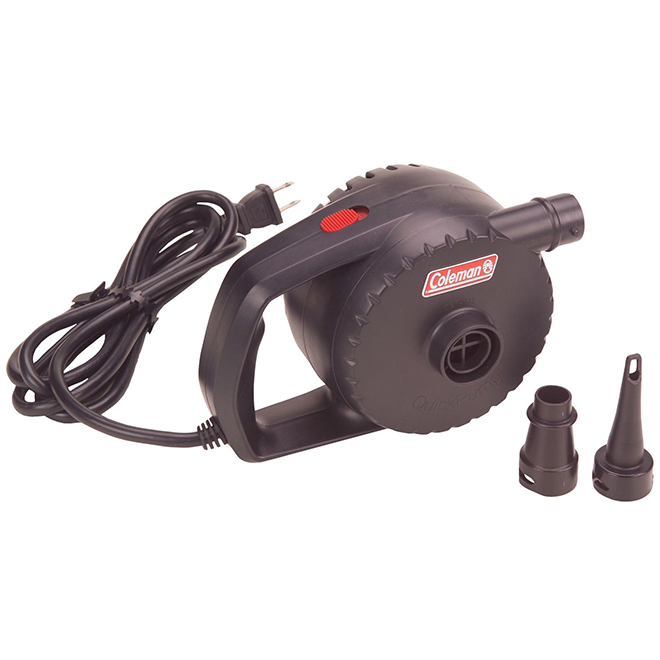 Electric Air Pump with Hose - QuickPump - 2 Adapters - 120 V