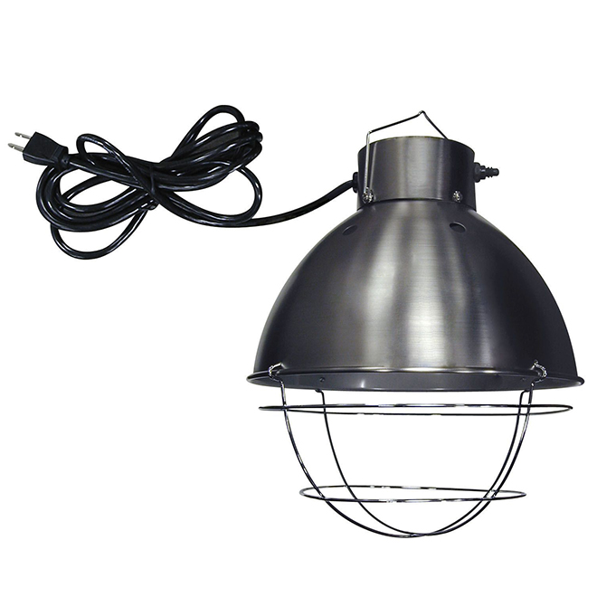 Lampe couveuse chauffante avec interrupteur