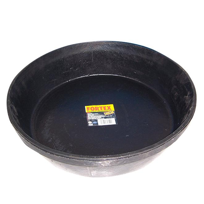 Bac d'alimentation en caoutchouc robuste, 11 L, noir