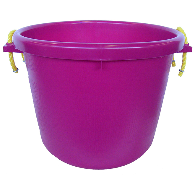 Muck Bucket - Rubber Polymer - 66 L - Burgundy