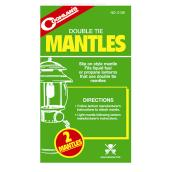 Double Tie Lantern Mantles - 2 Pack