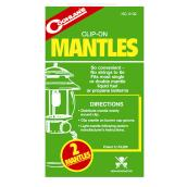 Clip-on Lantern Mantles - Double Tie/Single Tie - 2 Pack