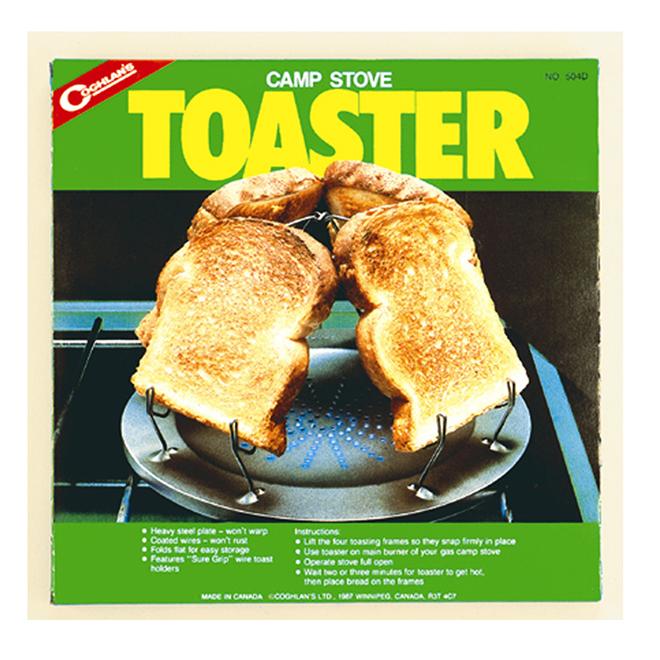 Grille-pain pour réchaud de camping, 4 tranches