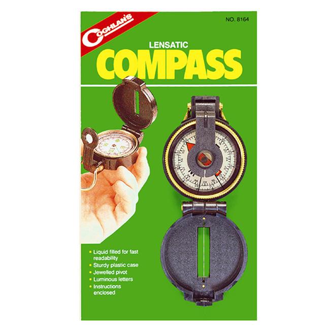 Lensatic Compass - Liquid Filled