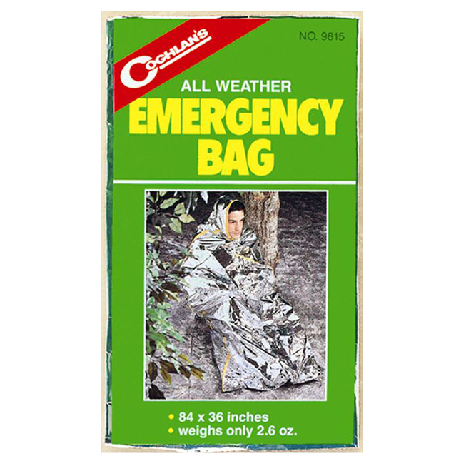 "Emergency Blanket Bag - 36"" x 84"
