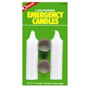 Emergency Candles - Burns 8-10 Hours - 2 Pack