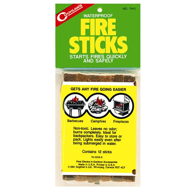 """Fire Sticks - 5"""" - 12 Pack"""