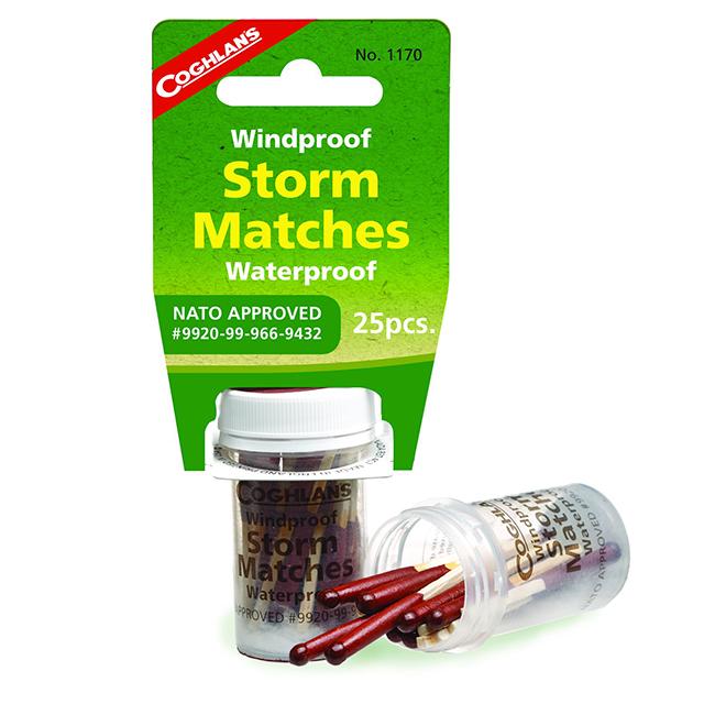 Windproof/Waterproof Matches -25 Packs