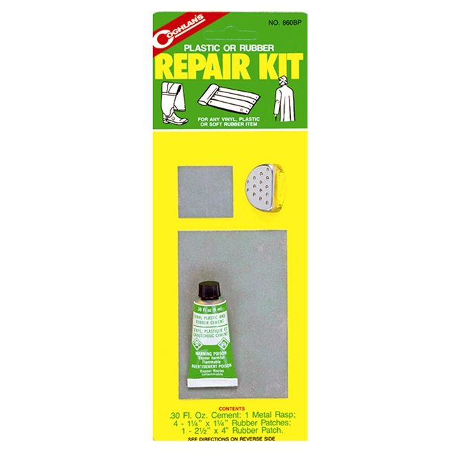 Plastic and Rubber Repair Kit