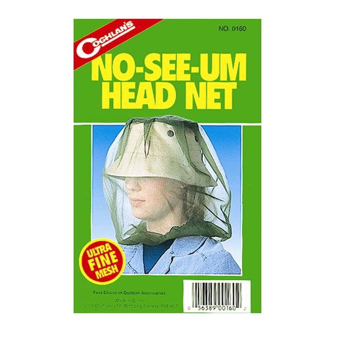 Moustiquaire anti brûlot pour la tête, mailles très fines