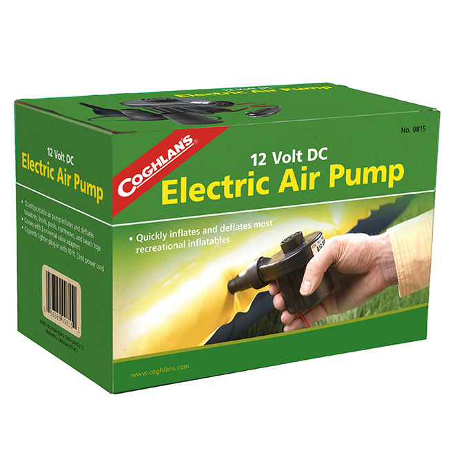 Pompe à air électrique, 12 V