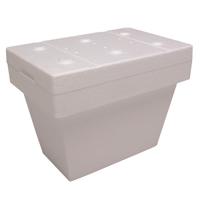 Glacière en polystyrène, Cryopak, 26 pintes